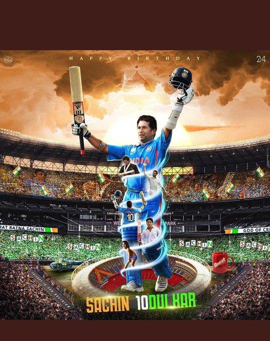 Wish you very Happy Birthday To God of cricket Sachin Tendulkar.