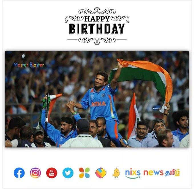 Happy Birthday sachin tendulkar Sachin Tendulkar