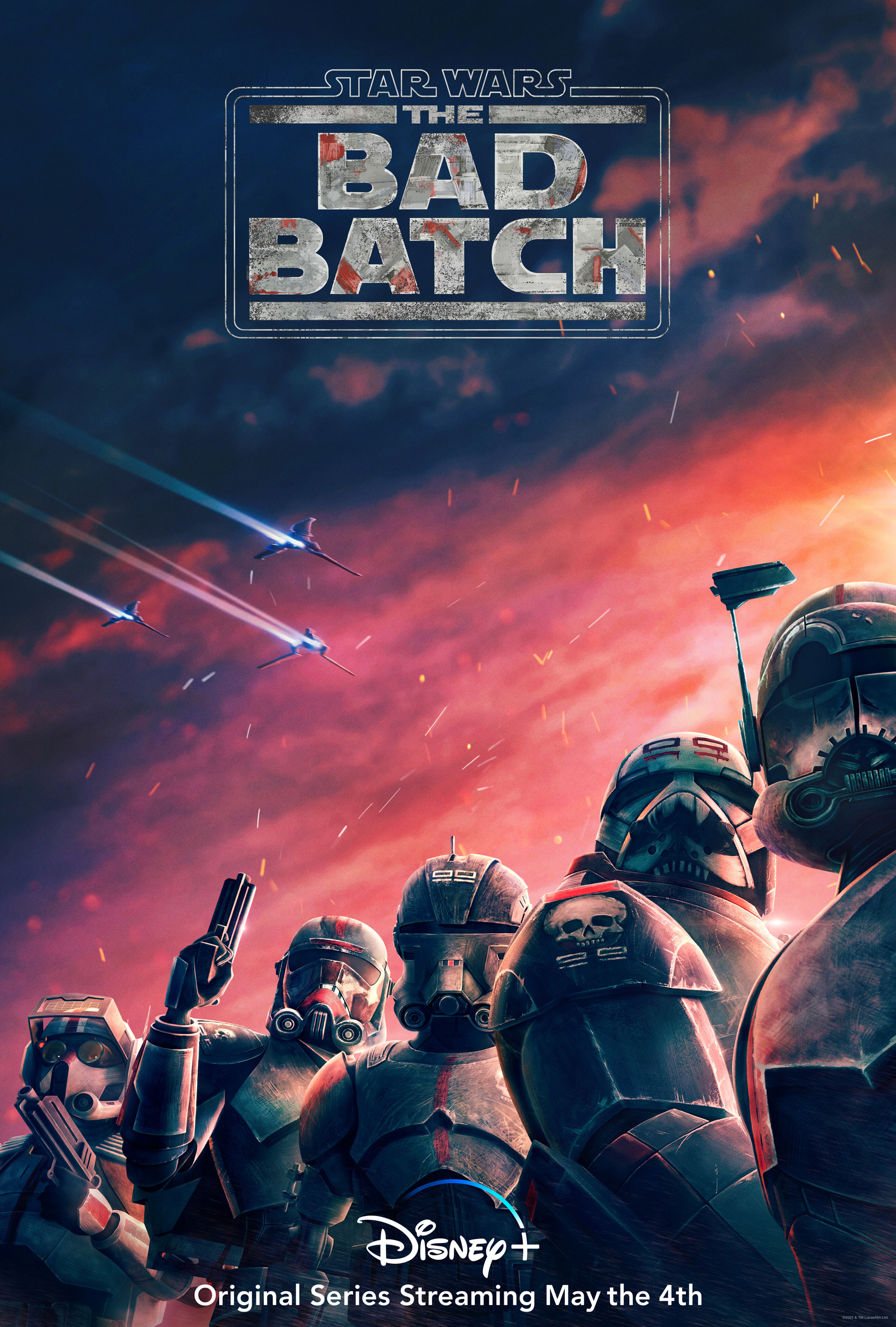 """Ion Cannon: A Star Wars Podcast on Twitter: """"Celebrate #MayTheFourth with our review of @TheBadBatch, the new series premiering today on Disney+! Fans of #TheCloneWars won't want to miss this phenomenal continuation"""