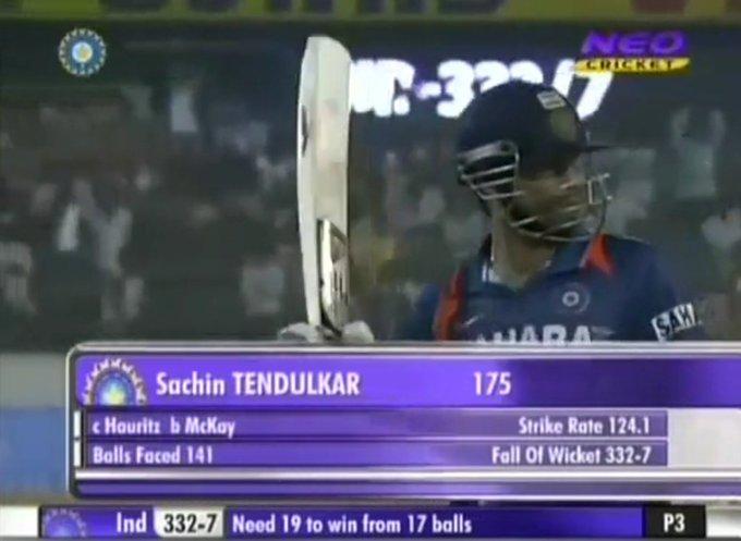Happy Birthday Sachin Tendulkar My Favourite Knock