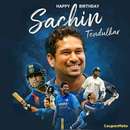 Happy Birthday to you. Legendary. Cricket. God. Sachin Tendulkar. Gru.