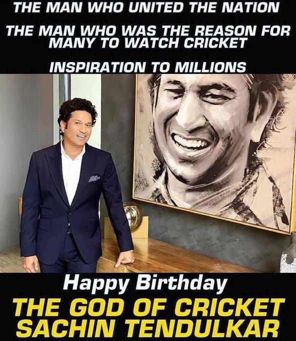 Happy Birthday, Sachin Tendulkar