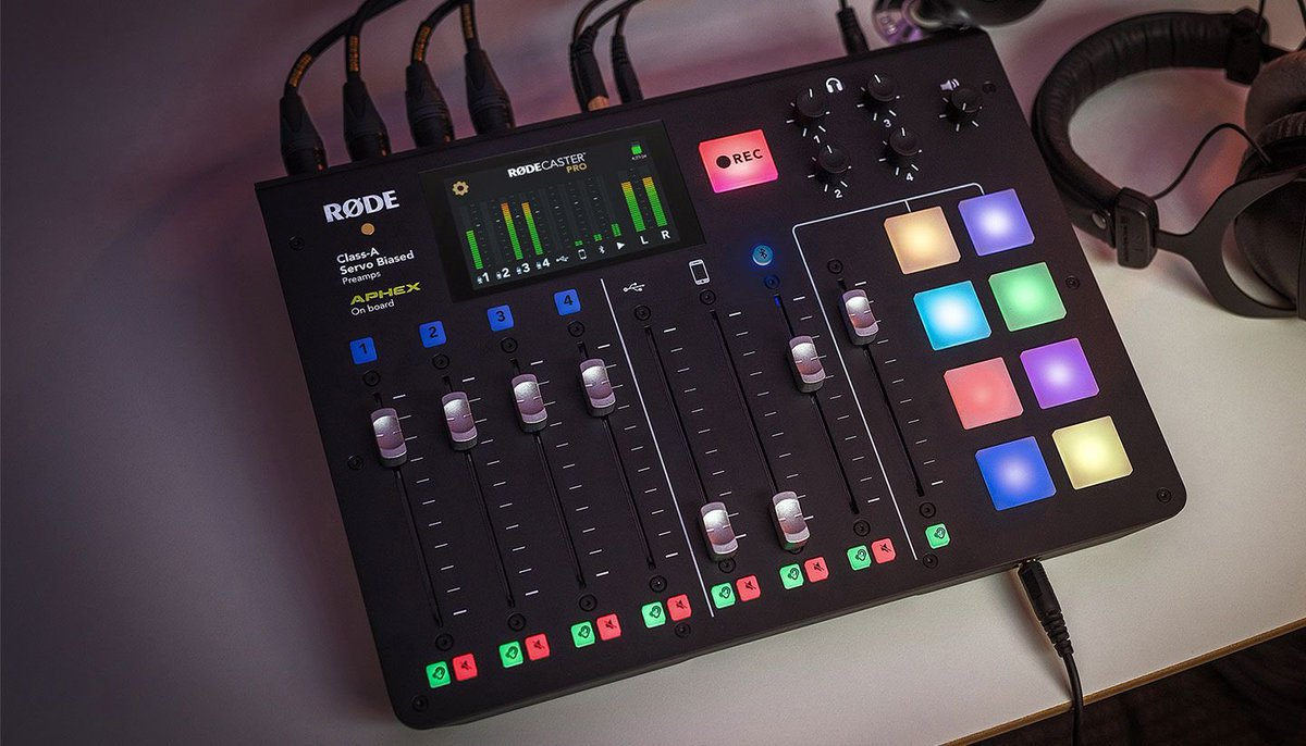 Radio Essentials Giveway!!   We are giving away a brand new Rode RodeCaster Pro!  - To enter RT and ensure you follow us on Twitter! - Draw closes when we get to 5000 followers! RT RT!  #RadioEssentials • content and services for radio people • https://t.co/2MKwHpBwae • https://t.co/7MWZoiIQW2