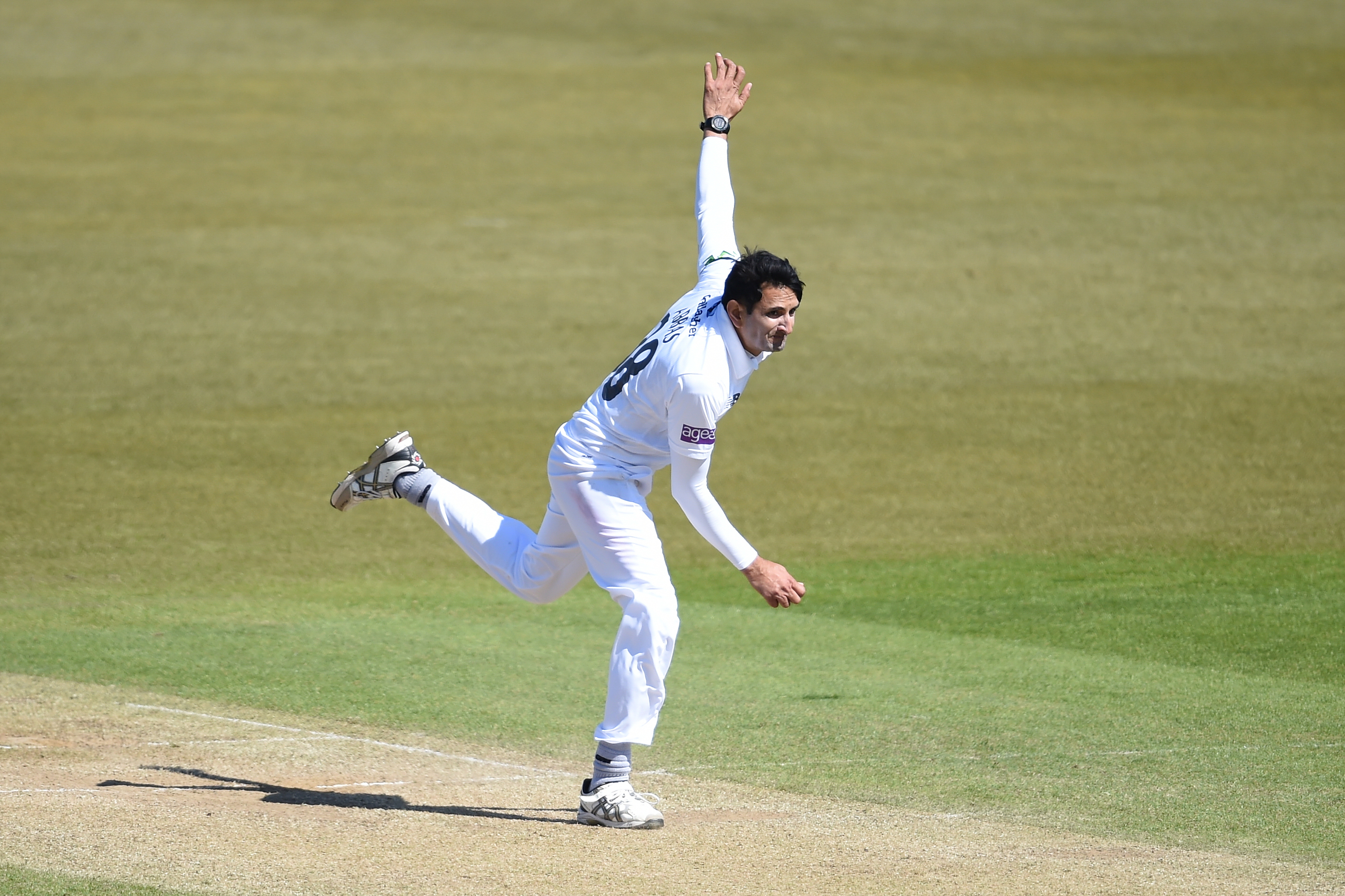 Mohammad Abbas continues to impress for Hampshire in the County Championship