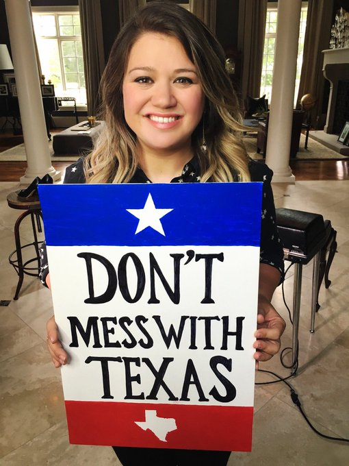 Happy birthday to singer, talk show host and Fort Worth, TX native Kelly Clarkson
