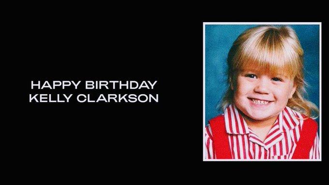 Beyoncé wishes Kelly Clarkson a Happy Birthday!