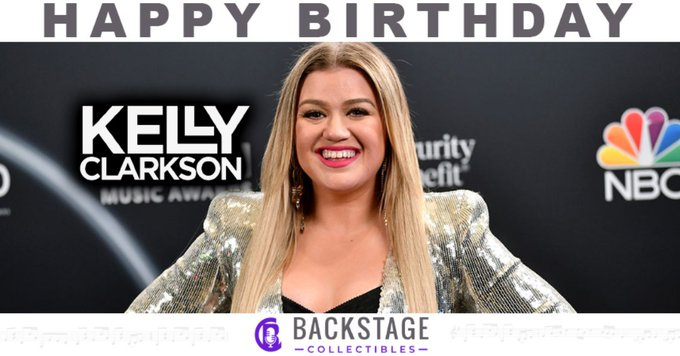 Happy Birthday to The Voice judge and talented artist, Kelly Clarkson!