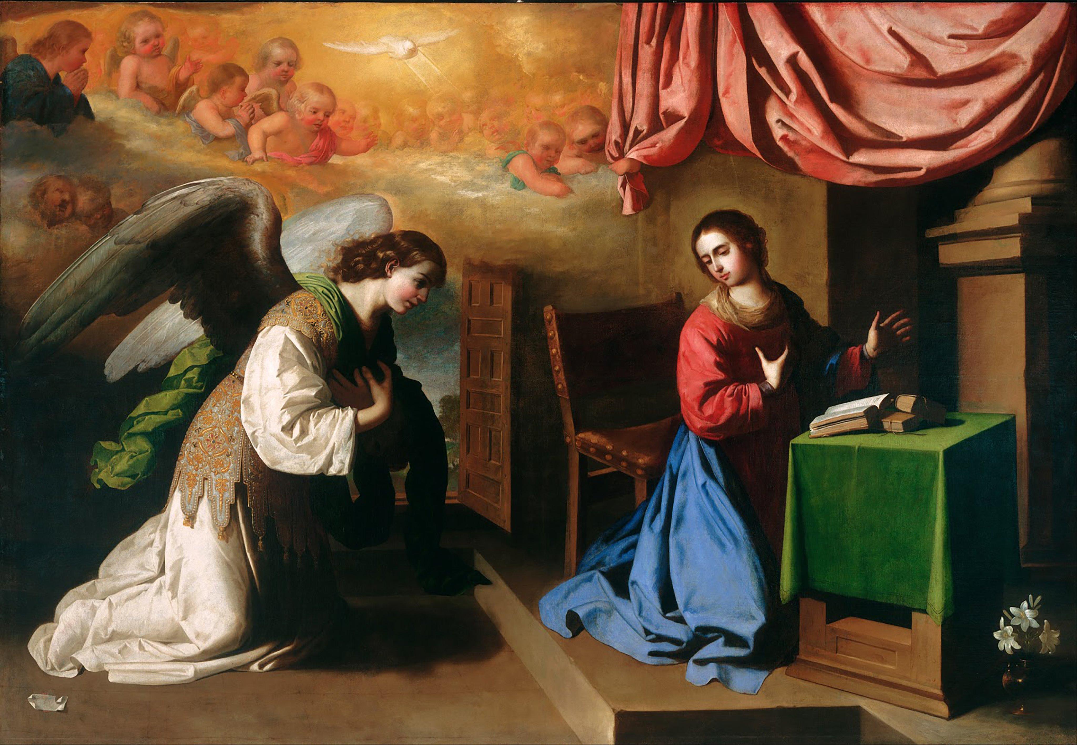 Anunciação do Anjo a Virgem Maria