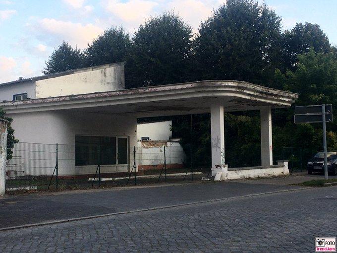 Rettet denn niemand die schönen, alten Tankstelle