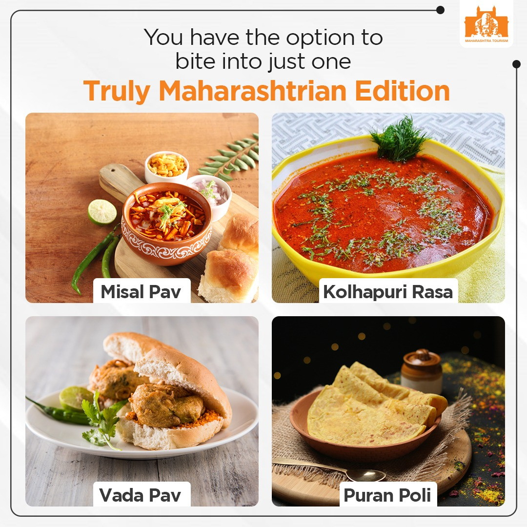 Here's a delectable treat of traditional & local street food from Maharashtra for everyone! #Vocal4Local #DekhoApnaDesh  @maha_tourism