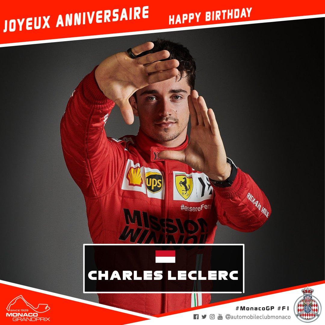 Happy Birthday @Charles_Leclerc !