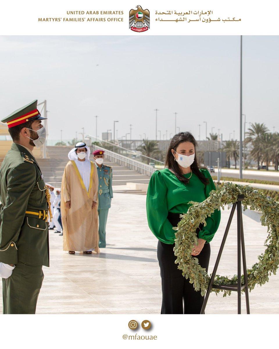 زارت وزيرة الداخلية الاسرائيلية @Ayelet__Shaked  ابو ظبي اليوم ، حيث زارت جامع الشيخ زايد وواحة…
