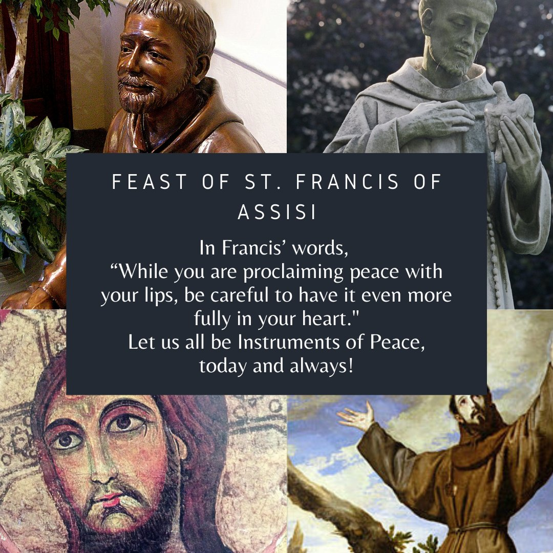test Twitter Media - Happy Feast of St. Francis! #StFrancis, #befranciscan https://t.co/tNBbiEduOv