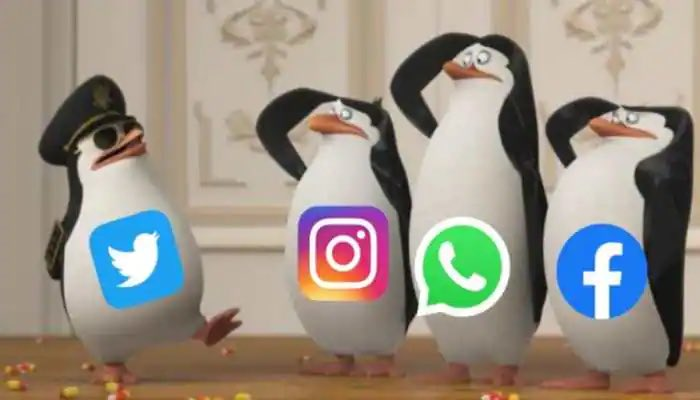 me checking on twitter what's going on whatsapp Facebook and instagram