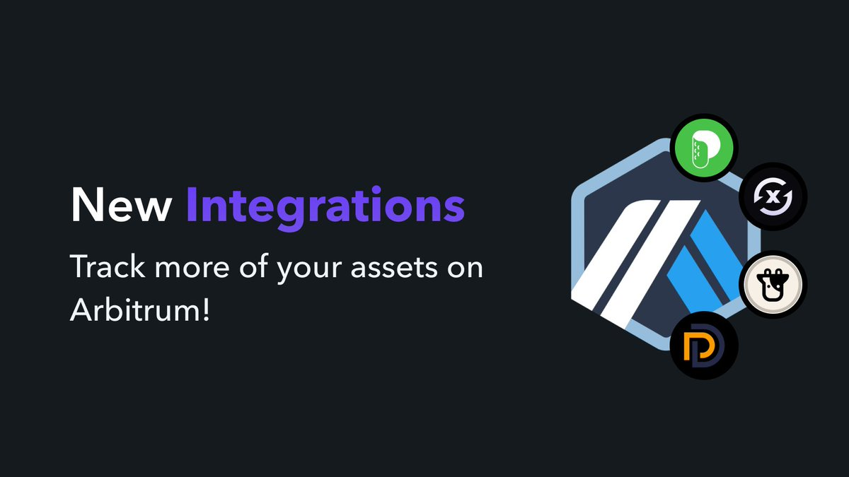 Zapper has integrated even more protocols on @arbitrum 👀 You can now view @picklefinance, @SwaprEth, @beefyfinance, and @dForcenet balances on Arbitrum on our dashboard. See these and other L2 protocols we support at zapper.fi.
