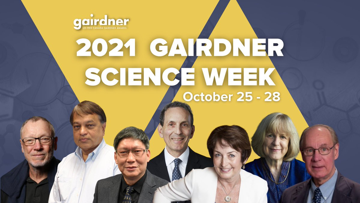 #MedicinebyDesign is proud to be a sponsor of Gairdner Science Week. Register now to hear an impressive group of #biomed speakers.