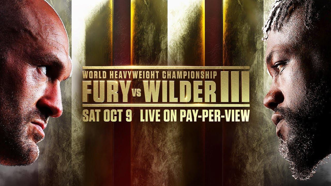 Tyson Fury vs Deontey Wilder III