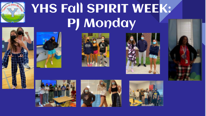 Great start to YHS Fall Spirit Week with PJ Day Monday. Tuesday is TIE DYE DAY. <a target='_blank' href='http://twitter.com/YorktownHS'>@YorktownHS</a> <a target='_blank' href='http://twitter.com/Principal_YHS'>@Principal_YHS</a> <a target='_blank' href='http://twitter.com/APSVirginia'>@APSVirginia</a> <a target='_blank' href='http://twitter.com/YorktownYB'>@YorktownYB</a> <a target='_blank' href='http://twitter.com/YorktownSentry'>@YorktownSentry</a> <a target='_blank' href='http://twitter.com/yhssports'>@yhssports</a> <a target='_blank' href='https://t.co/kq32lQXcRY'>https://t.co/kq32lQXcRY</a>