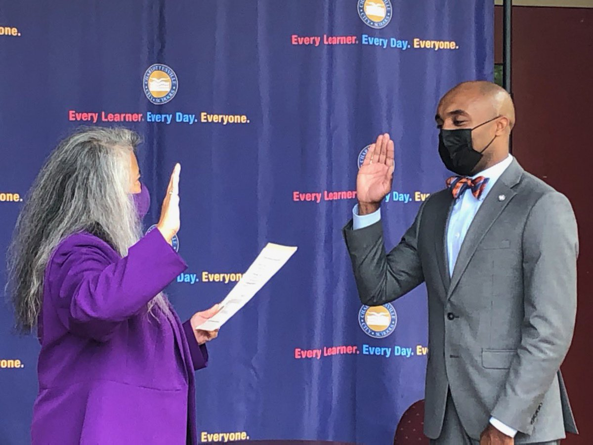 Welcome to Charlottesville, Dr. Gurley!