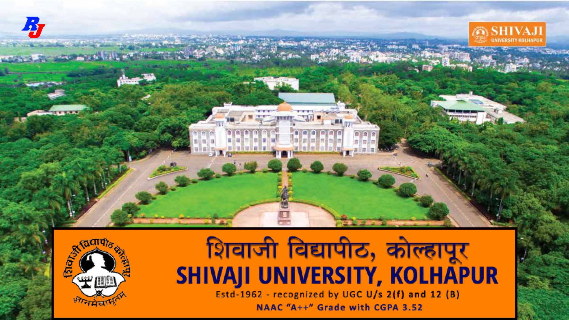 Teaching Posts (Walk in Interview) Shivaji University, Kolhapur, Total Post= 28