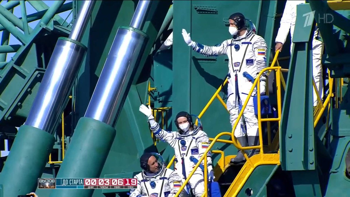 Космонавт Борисенко рассказал, что ждет первый в мире киноэкипаж на орбите
