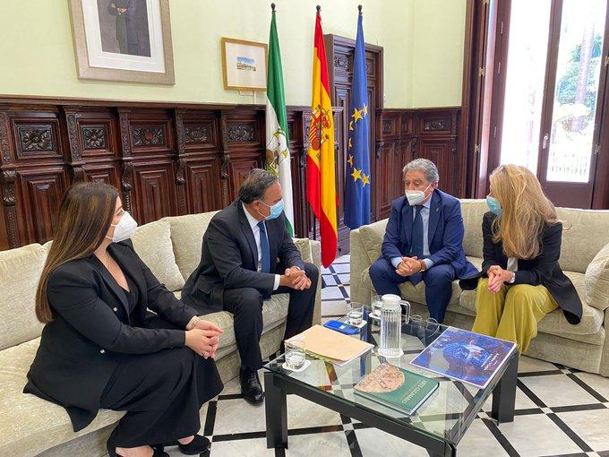 Tweet de Andalucía Acción Exterior