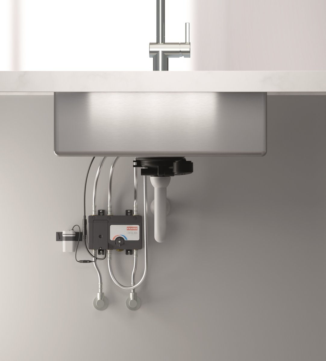 Our Atlas Neo Sensor touch free tap is fast and easy to install with a small control box and battery case which can simply be screwed onto the cabinet. Perfect a new kitchen or to change or upgrade to a touch-free option. franke.com/content/corpor… #touchfree #plumbing