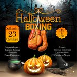 Image for the Tweet beginning: Sesión especial Halloween Boxing! Impartida por