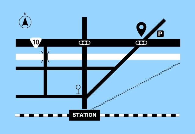 #路線図 がカンタンに描けます🚃  #Illustrator を使って #鉄道路線図 を作る方法を @qam_web さんの記事で紹介しています🛤⇒