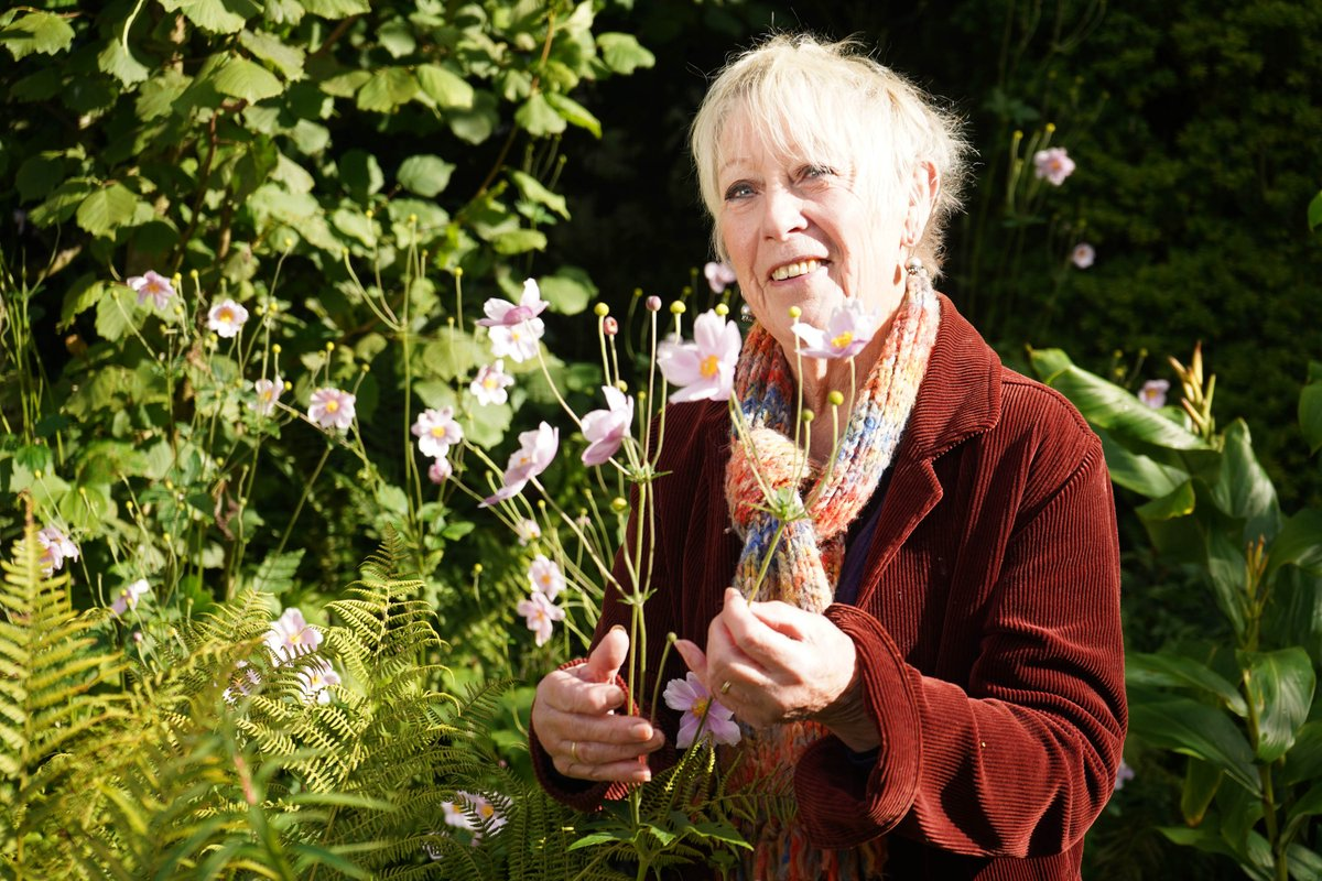 .@CarolKlein is back with a brand new episode 🍅🌽🥕🍏 All new Autumn Gardening With Carol Klein continues tonight at 7pm on @channel5_tv #Autumn #Gardening #CarolKlein