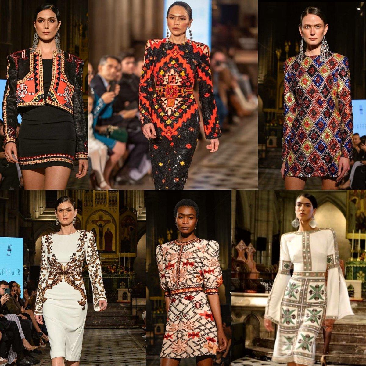 Félicitation à #RufatIsmayil créateur 🇦🇿 qui a participé à la #FashionWeek de Paris 2021. Sa nouvelle collection haute couture appelée « Sumakh » est composée de 21 robes. Chaque pièce est faite à la main et a été inspirée des tapis traditionnels azerbaïdjanais. #parisfw