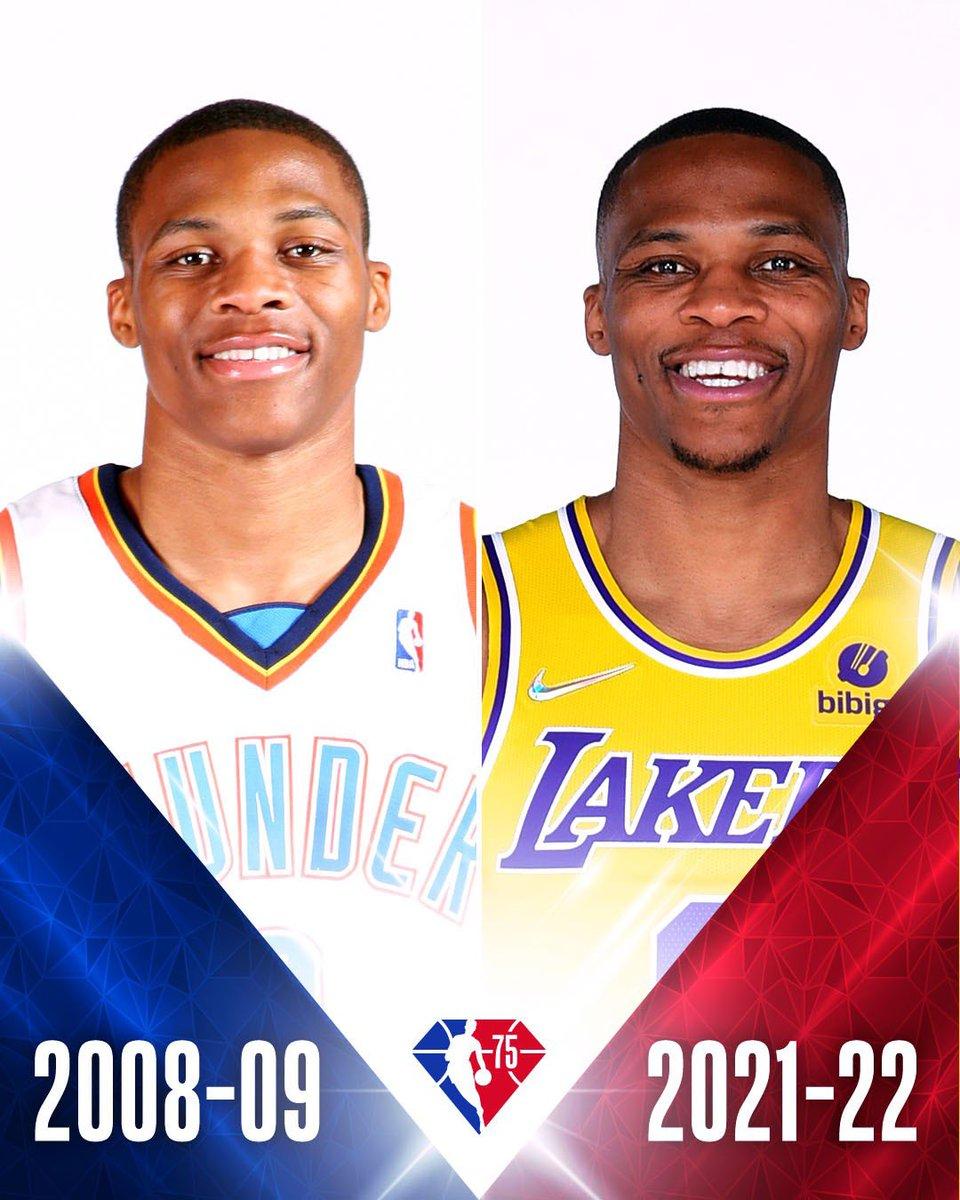 Year 1 ⏩ Year 14  #NBA75