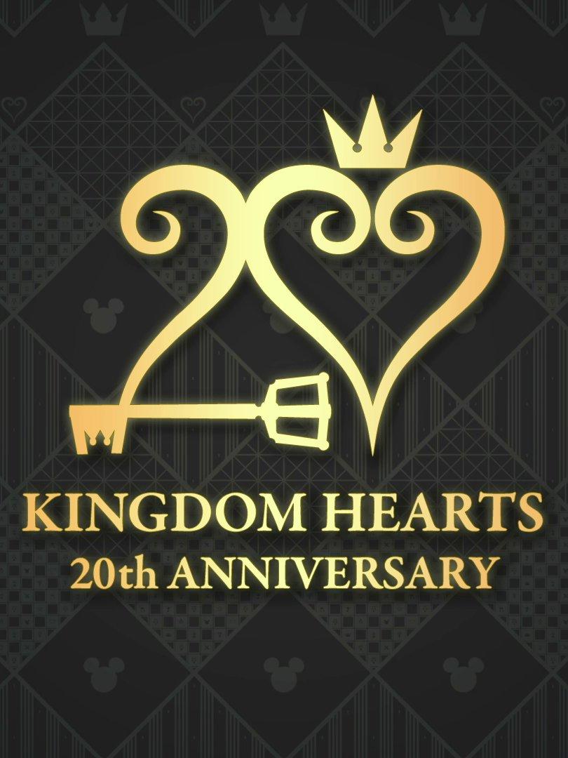 Logo for the Kingdom Hearts 20th Anniversary