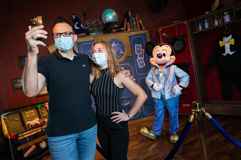 Encontro com personagens voltam ao Walt Disney World