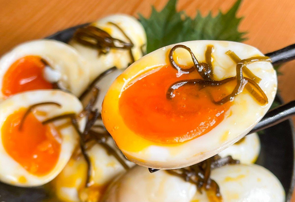 卵+3つの材料で作れちゃう!簡単&お手軽に作れて、とっても美味しそうな「味玉」レシピ!