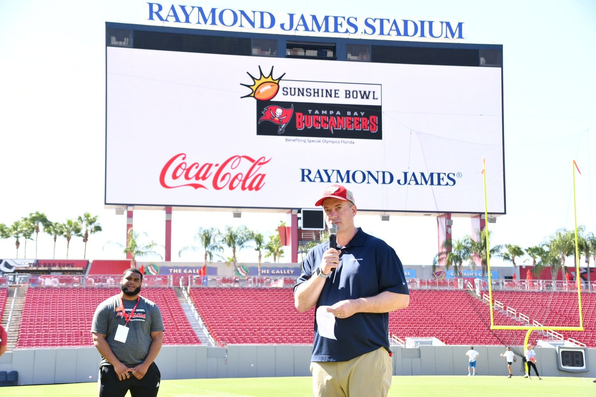 Thank you @TashElwynRJ and @RaymondJames for your continued support of the #SunshineBowl 🌞🏈