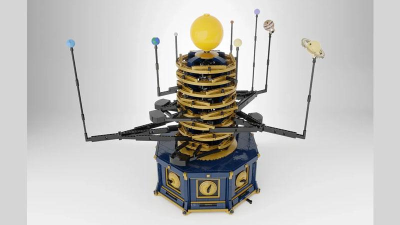 ⚡レゴ新製品候補情報⚡作るの難しそう!  レゴアイデアで『動く太陽系儀』が製品化レビュー進出!2021年第3回1万サポート獲得デザイン紹介│スタッズ|レゴの楽しさを伝えるWEBメディア   続きはこちら⇓