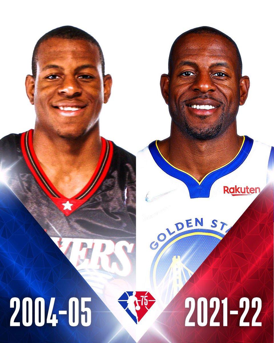 Year 1 ⏩ Year 18  #NBA75
