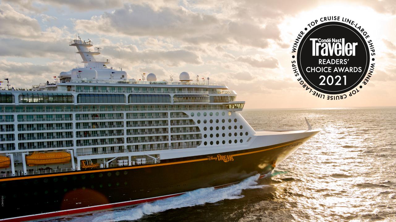 Disney Cruise Line é considerada a melhor pela Conde Nast Traveler