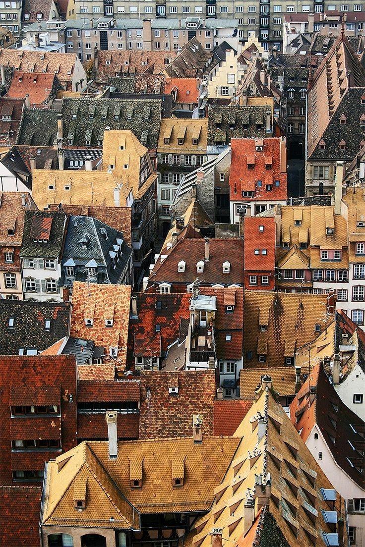 Strasbourg roofs by Federico Massa
