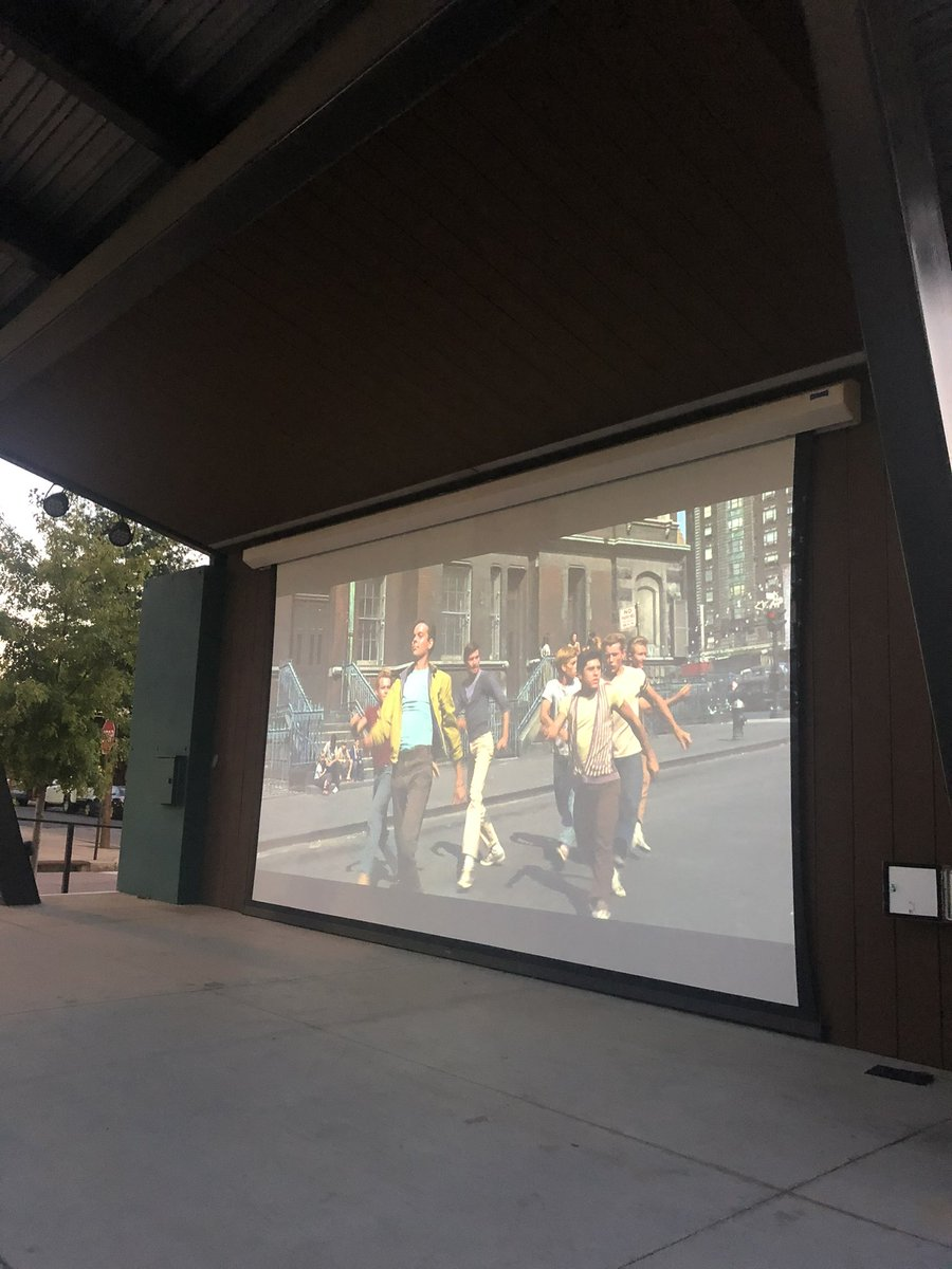 We've got West Side Story on the big screen tonight!