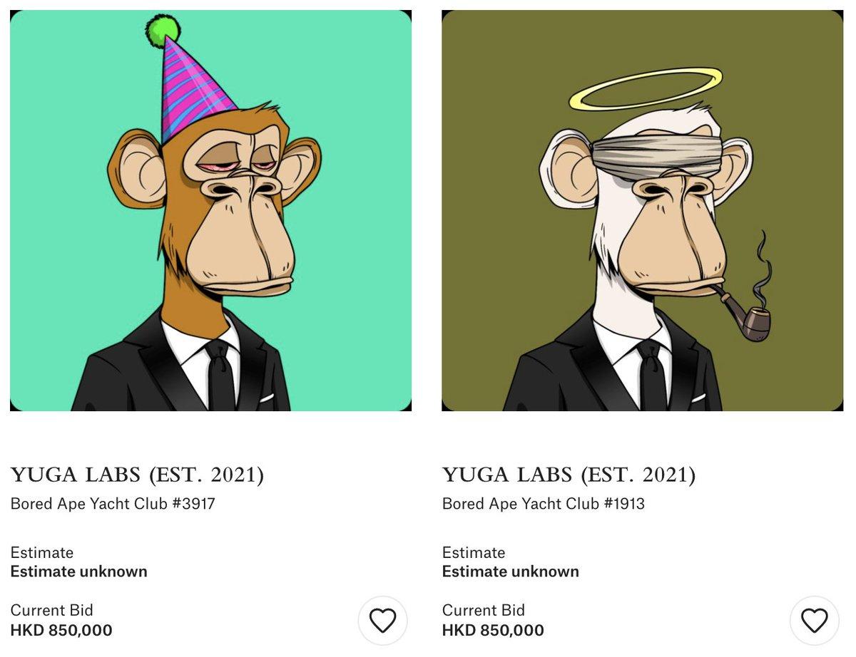 Christie's update: ◦ Blue Beams: 208 ETH ($650K) ◦ Zombie: 91 ETH ($286K) ◦ Party Hat: 35 ETH ($111K) ◦ Halo: 35 ETH ($111K) 4 days to go...