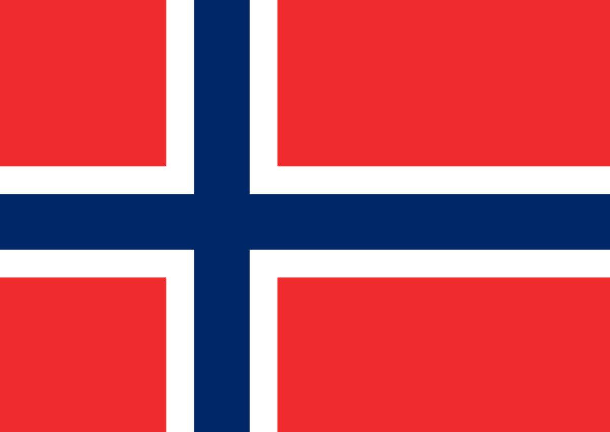Flags that look alike 🇳🇴 Norway 🇮🇸 Iceland https://t.co/G6DjpYf9Xo