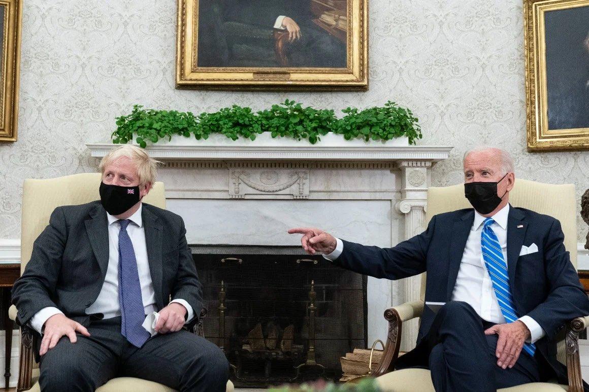 Does Biden hate Boris and the UK? On with @THEJamesWhale now. @talkRADIO 535pmET/1035pmUK