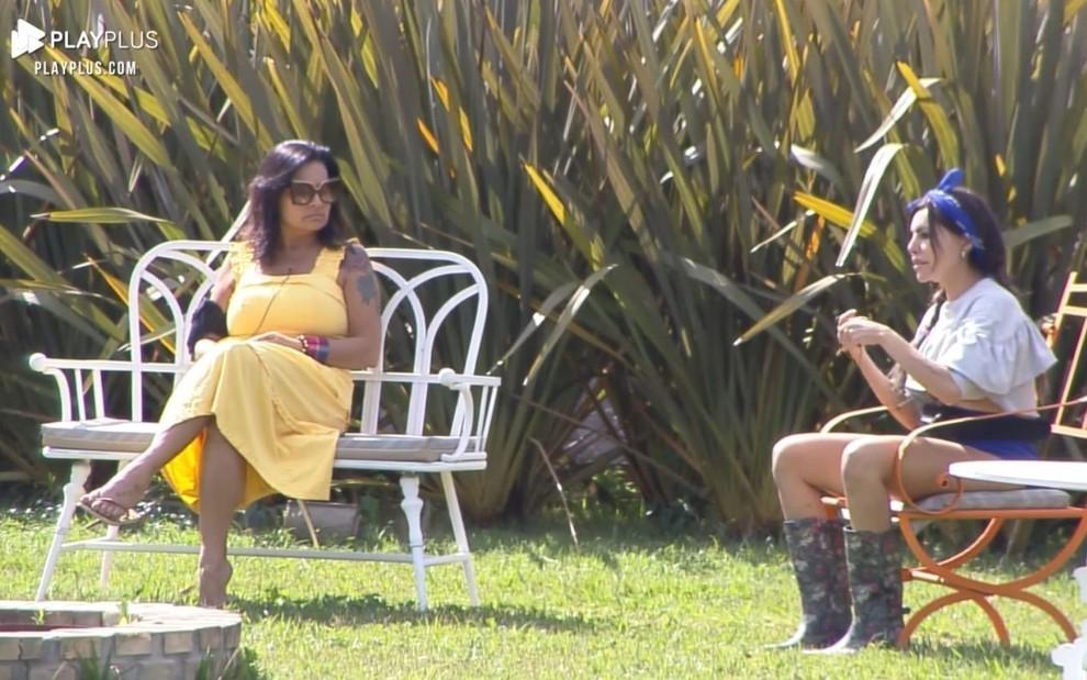 Liziane fala mal de Fernanda Medrado e leva patada de Solange em #AFazenda13 > https://t.co/mcdxgFAxMx https://t.co/cd2nUzwdiK
