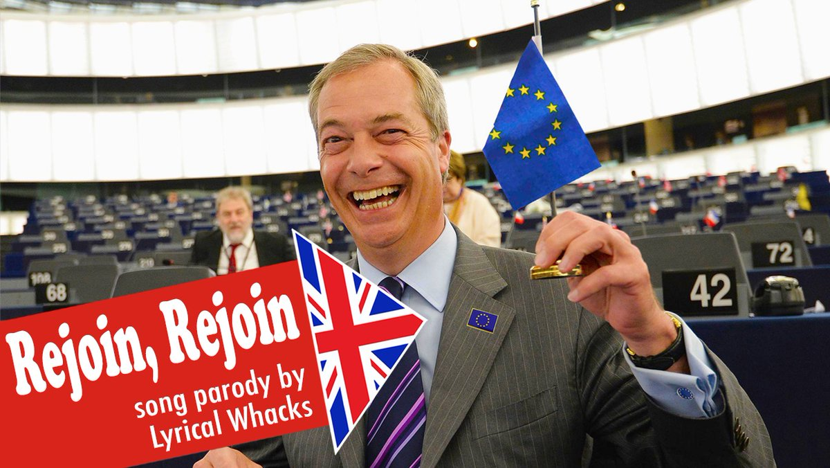 Coming tomorrow... the song... not the event  (that may take a little longer) #FBPE #followbackfriday #brexit #farage #ToryBrexitDisaster #BrexitTax #BrexitFoodShortages #BrexitReality #JohnsonOut🇪🇺🎼🎤🤪😂🙏
