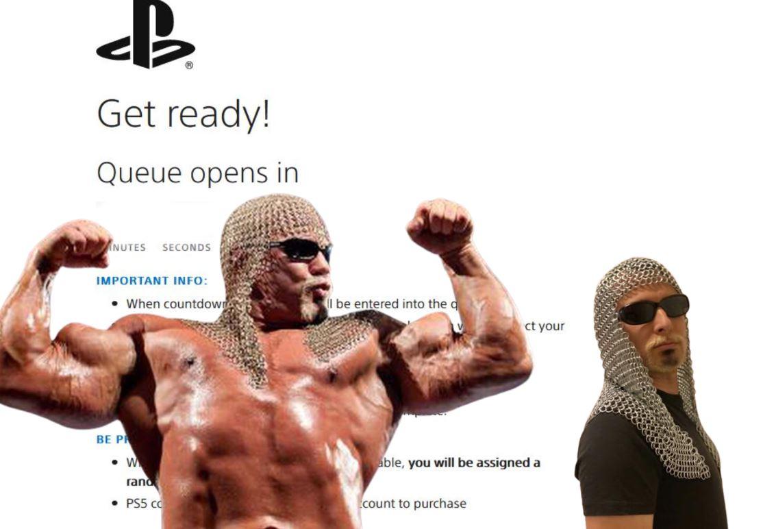 PS5 Virtual Line via PlayStation Direct.  Holla if ya hear me.