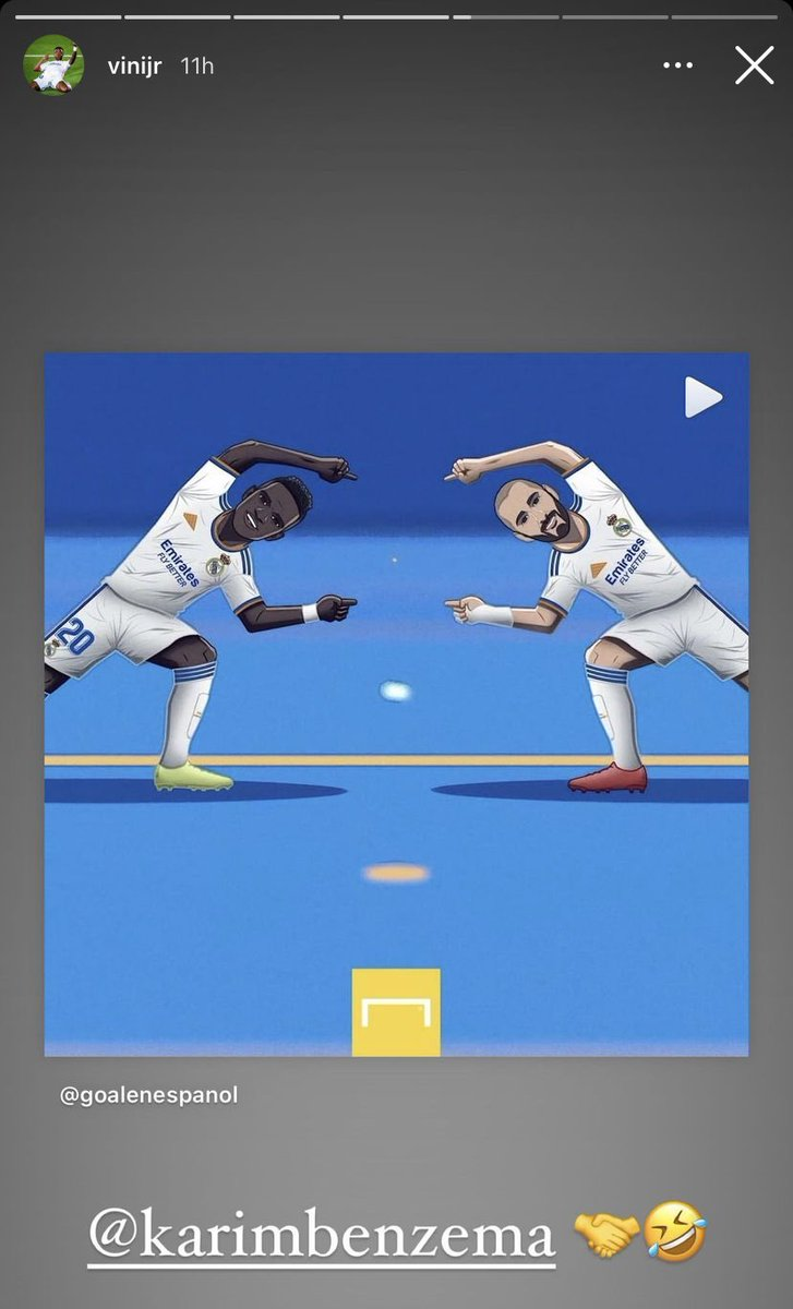 RT @falasantin: Petição pro Benzema e Vinícius comemorarem com fusão no próximo jogo 1 membro https://t.co/9NmxcLgLil