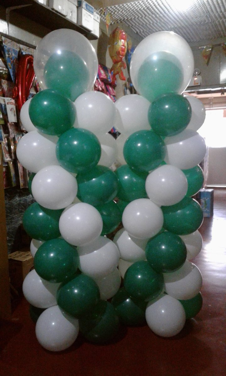 Grind of the day. 💪😉 #PairColumns #TwinTowers #BalloonArrangements  🌐👑🎁🎈🎉🚀 AMDG.