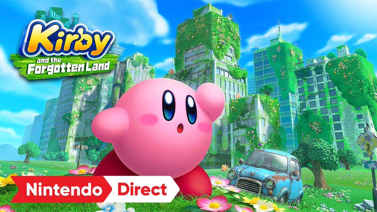 It's taken 30 years but @NintendoAmerica finally decided to change Kirby's formula. It looks charming. #KirbyForgottenLand